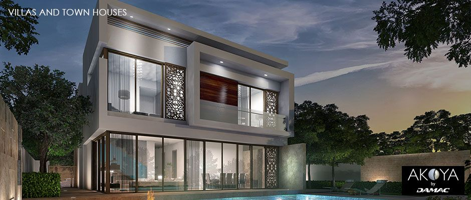 Dubai Akoya Golf by Donald Trump Townhouses and Villas from AED 2,396,610 (£428,744)