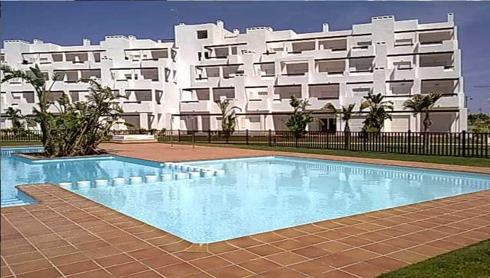 Bank Repossession. New 2 Bedroom Golf Apartments in Torre-Pacheco, Murcia, From €57,500