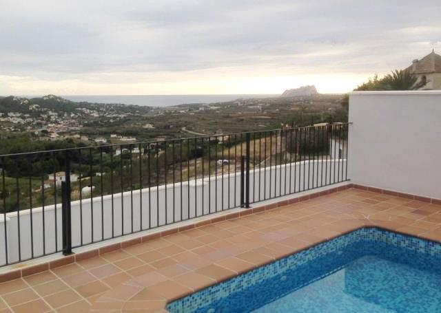 Bank Repossession. New 1 & 2 Bedroom Apartments in Benitachell, Alicante, with panoramic mountain views From €64,400