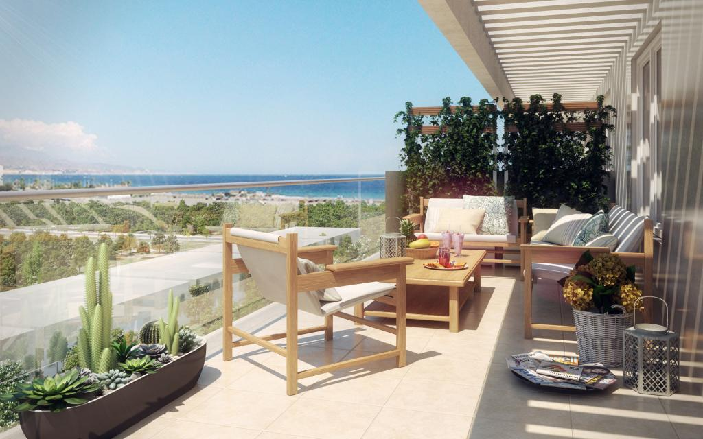 New 2 & 3 Bedroom Apartments Near Beach in Torre del Mar, Malaga, From €155,000