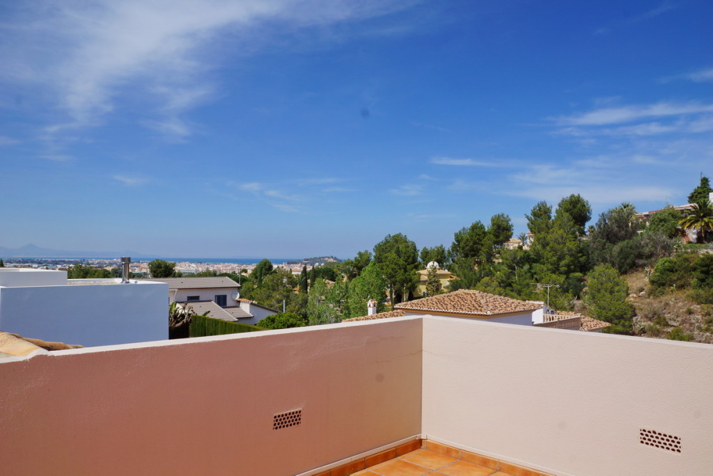 5 Bedroom Detached Villa in Denia, Alicante, overlooking the sea and Montgo, €525,000