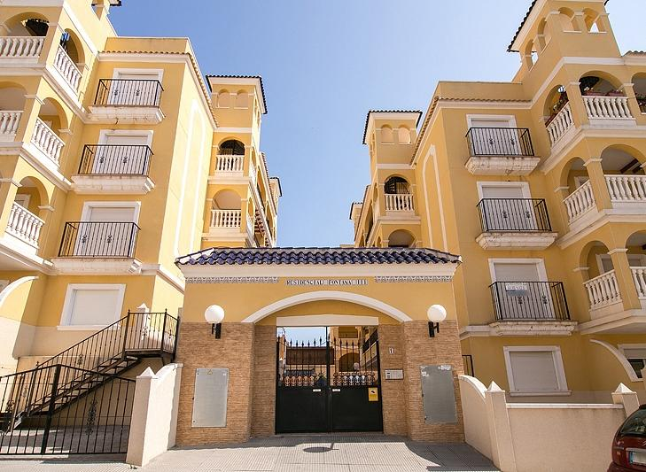 Bank Repossession. New 2 Bedroom 1 Bathroom Apartments in Algorfa, Alicante, From €49,000