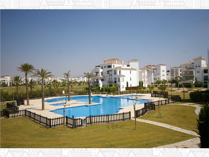 Bank Repossession. Furnished 2 Bedroom Apartment in La Torre Golf Resort, Roldán, Murcia, €84,900