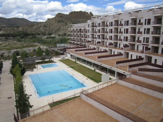 New 1 & 2 Bedroom Apartments with Indoor and Outdoor Pool in Villanueva del Río Segura, Murcia, From €34,700