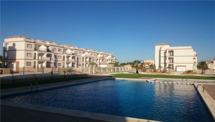 New 2 Bedroom 2 Bathroom Apartments in Orihuela Costa, Alicante, From €69,600
