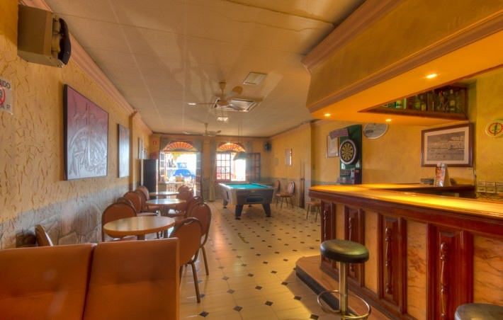 For Sale. Beach Front Bar Pub In Mojacar Playa, Almeria, Spain, €299,950