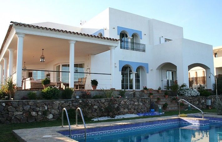 Detached 4 Bedroom Villa with Private Pool and Sea Views in Mojacar Playa, Almeria, €795,000