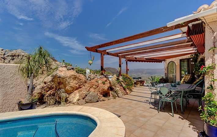 Detached 3 Bedroom Villa with Private Pool in Cabrera, Almeria, Spain, €259,950