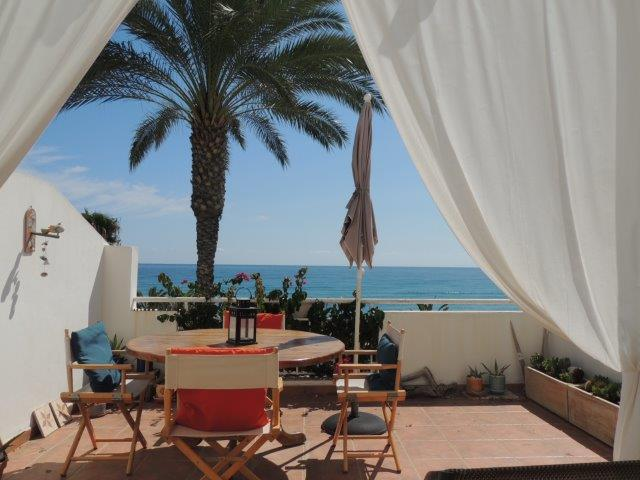 Front line 2 Bedroom apartment only metres away from the beach in Mojacar, Almeria, €239,950