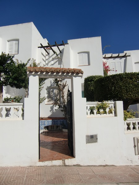 Three bedroom townhouse only 50 metres from the beach in Mojacar Playa, Almeria, Spain, €225,000