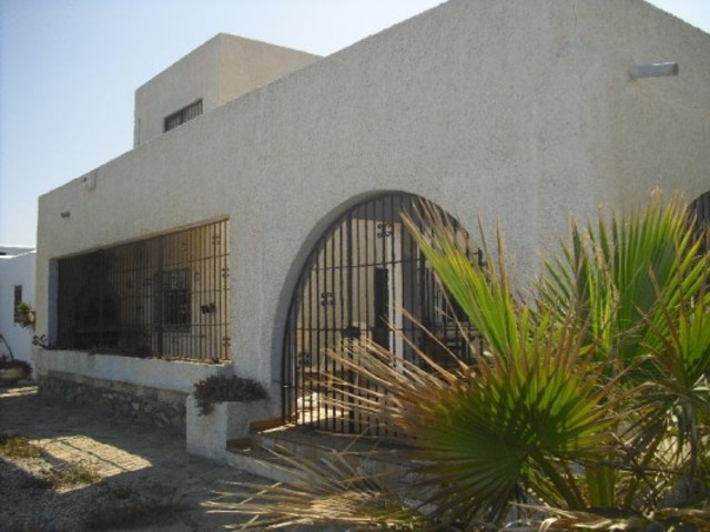 Rare Beachfront 3 Bedroom Villa in Mojacar Playa, Almeria, Spain, €475,000