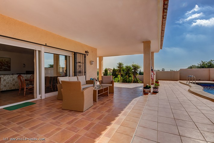 Lovely 3 Bedroom Detached Villa in La Algarrobina, Near Vera, Almeria, €340,000
