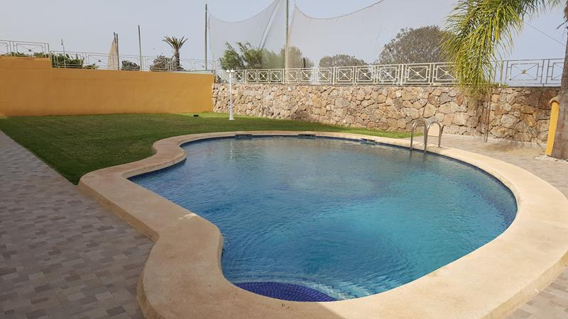 Luxury 4 Bedroom Villa with Stunning Sea and Golf Views in Mojacar, Almeria, Spain, €850,000