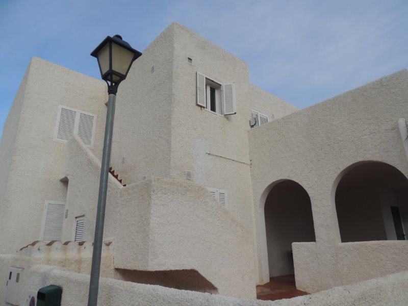 Two bedroom apartment with large terraces in Mojacar, Almeria, Spain, €99,950