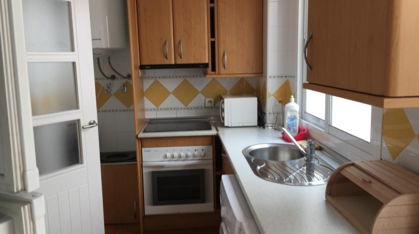 Two bedroom apartment with terrace and garden in Mojacar, Almeria, Spain, €119,950