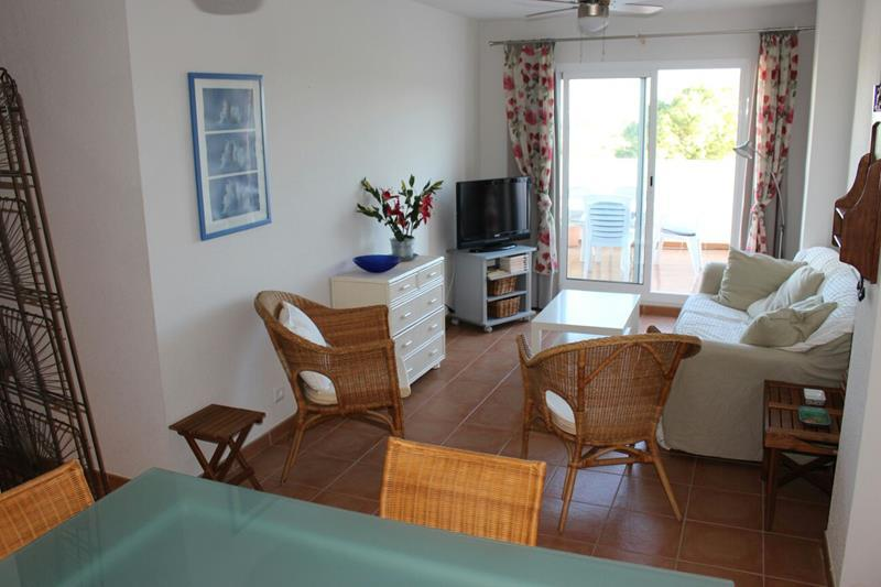 South facing 2 Bedroom apartment with large terrace in Mojacar €114,900