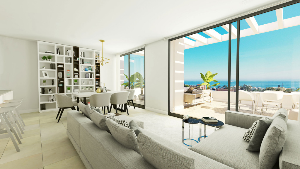 New 2 & 3 Bedroom Apartments in Estepona, Malaga, Spain From €239,100