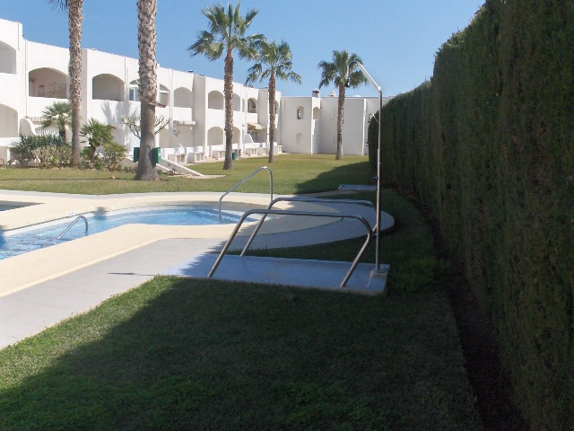 South Facing 1 Bedroom Ground Floor Apartment in Mojacar, €79,950
