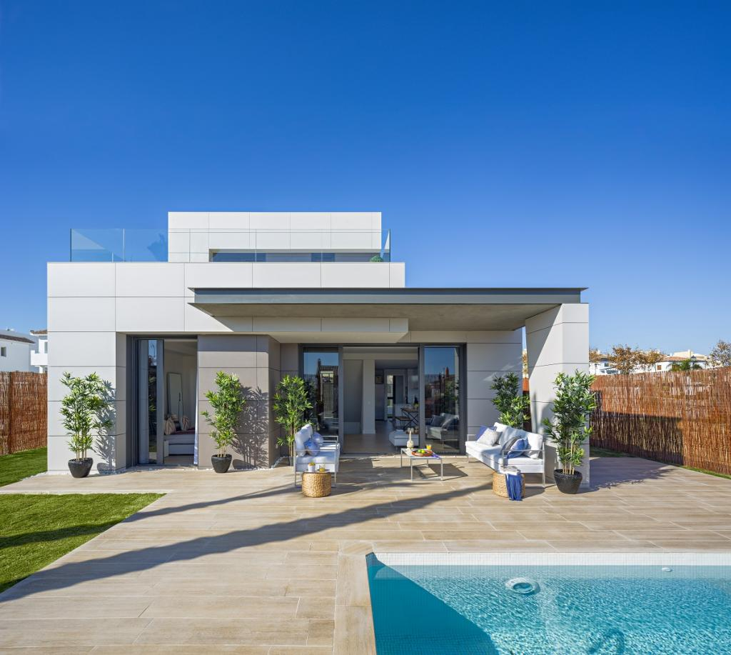 New 2 & 3 Bedroom Detached Villas with Private Pools in Torre del Mar, Malaga, Spain, From €359,000