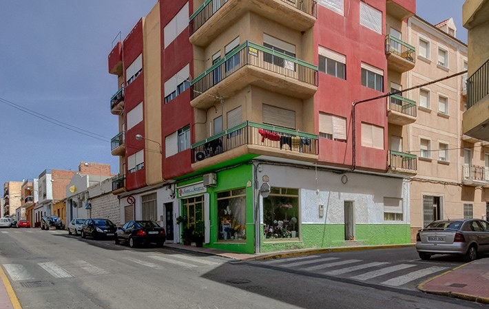 3 Bedroom Apartment in Albox, Almeria, Spain, €49,000