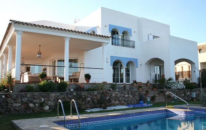 Detached 4 Bedroom Villa with Private Pool in Mojacar, Almeria, Spain, €795,000