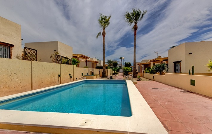 Detached 2 Bedroom Bungalow with Shared Pool in Vera, Almeria, Spain, €110,000