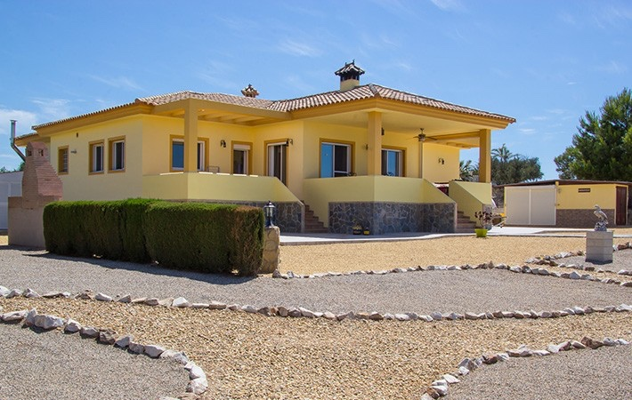 3 Bedroom Detached Villa with Private Pool in La Loma de Vera, Almeria, Spain, €460,000