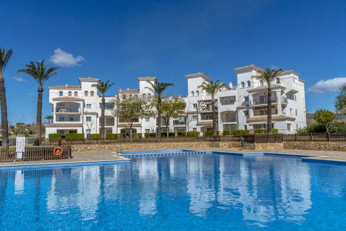 2 Bedroom Furnished Apartment in Hacienda Riquelme, Sucina, Murcia, Spain, €75,000