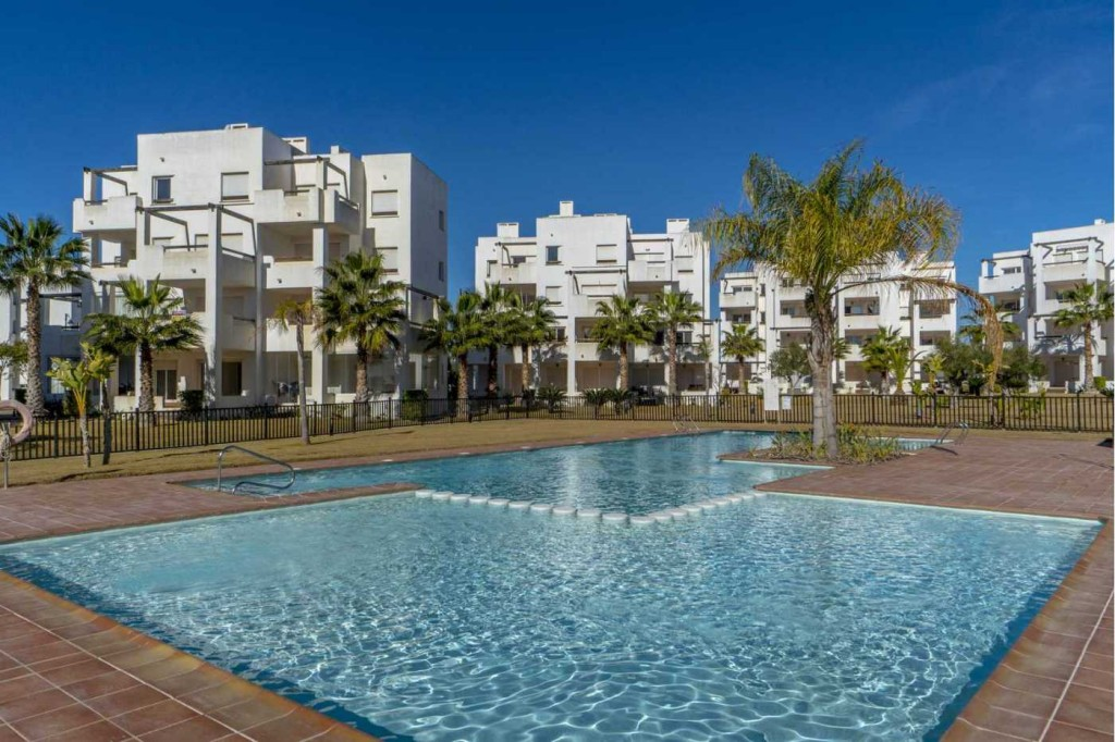 New 2 Bedroom Apartments in Las Terrazas de la Torre Golf, Torre-Pacheco, Murcia, From €52,300