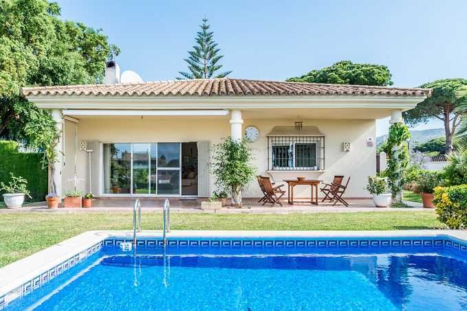 3 Bedroom Detached Bungalow with Private Pool in Marbella, Malaga, €639,000