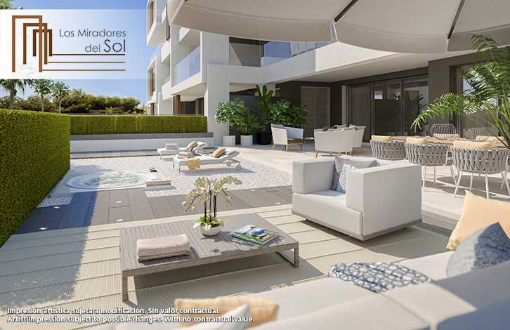 New 2 & 3 Bedroom Apartments Near Beach in Estepona, Malaga, From €232,000