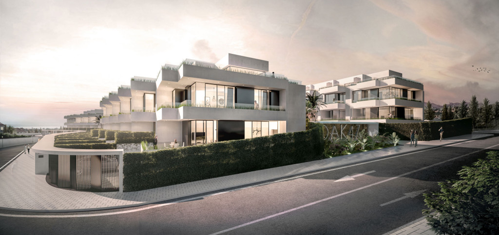 New 3 Bedroom 2 Bathroom Townhouses in Fuengirola, Malaga, Spain, From €288,500