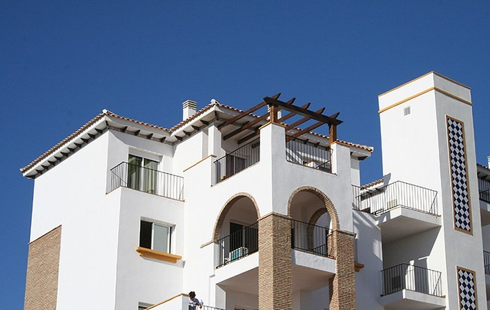 2 Bedroom 2 Bathroom Penthouse with 2 Pools in Vera Playa, Almeria, €99,500