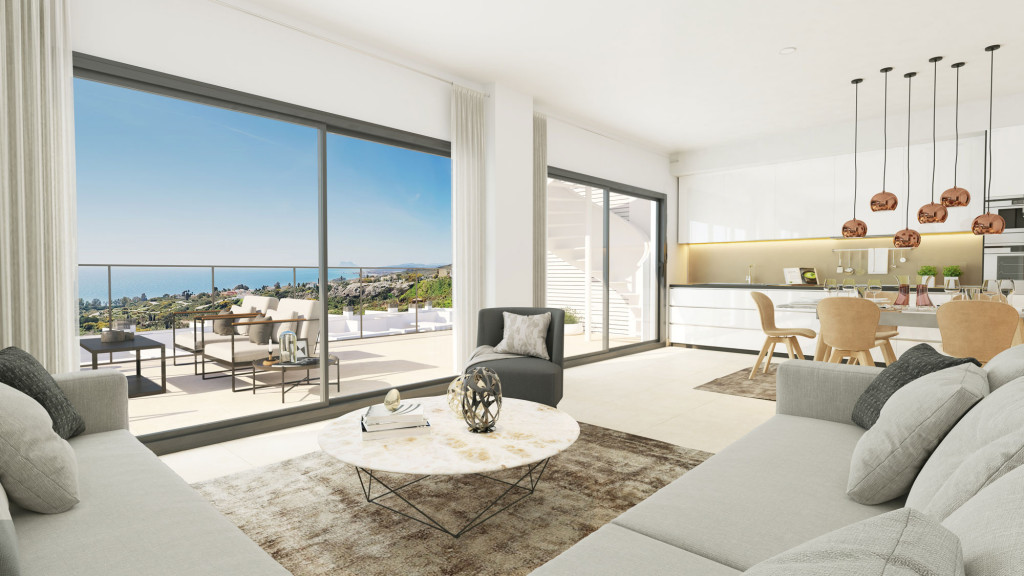 New Luxury 2 & 3 Bedroom Apartments in Manilva, Costa del Sol, From €189,000!!