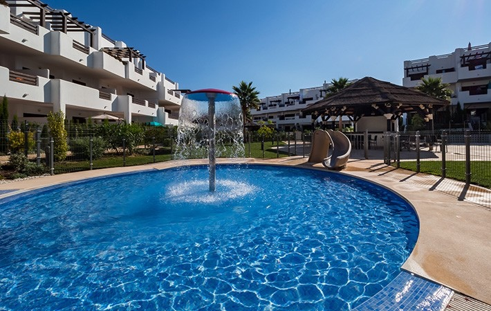 2 Bedroom Furnished Apartment in Mar de Pulpí, Almeria, €149,000