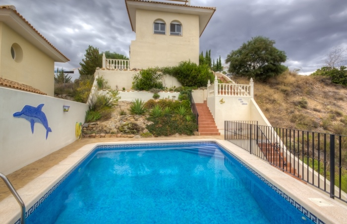 Detached 3 Bedroom Villa with Private Pool in El Pinar de Bedar, Almeria, €199,500