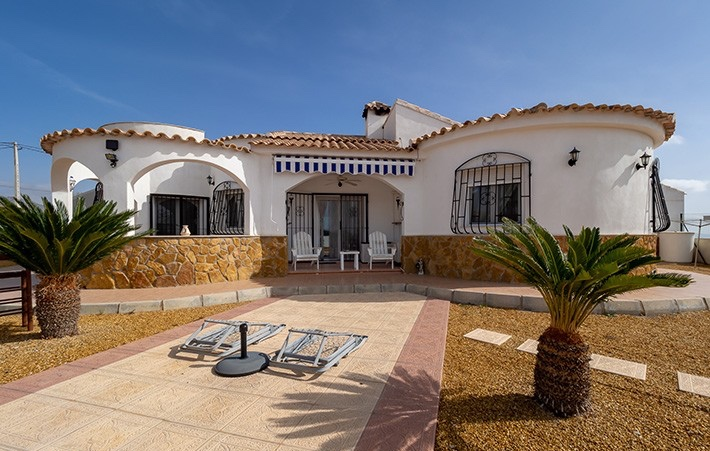 3 Bedroom Detached Villa with Private Pool in Urcal, Almeria, Spain, €239,000