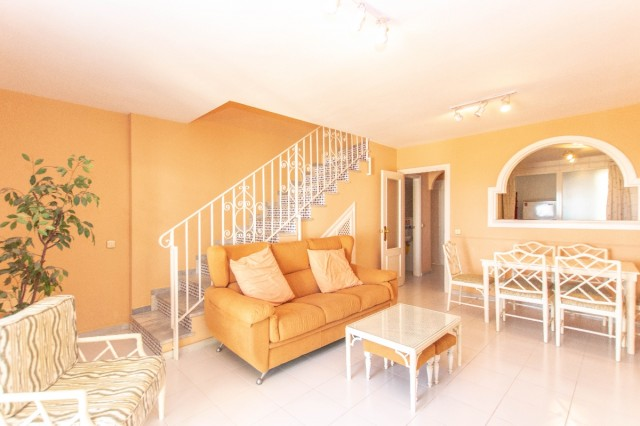 Frontline 2 Bedroom Townhouse in Mijas Costa, Mijas, Málaga, Spain, €180,000