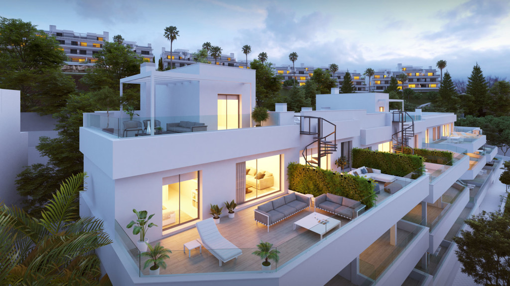 New 2 & 3 Bedroom Apartments in Estepona, Malaga, Spain, From €242,000