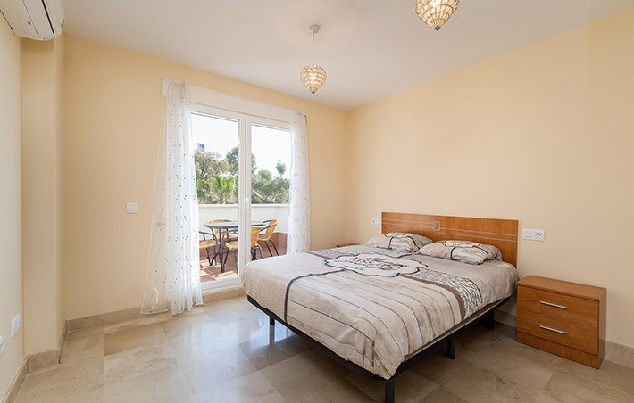 2 Bedroom Apartment with Sea Views in Mojacar, Almeria, €124,900