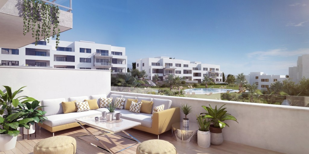 New 2, 3 & 4 Bedroom Apartments in Torre del Mar, Malaga, Spain, From €199,500