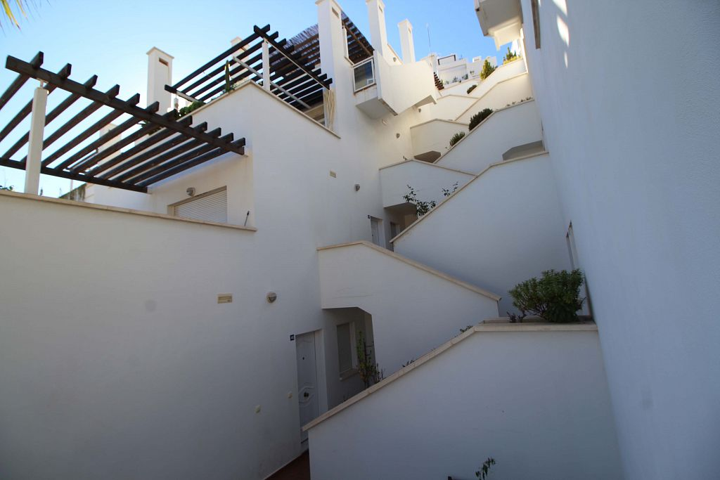 Bank Repossession. 3 Bedroom Apartment in Mojacar Playa, Almeria, €139,000