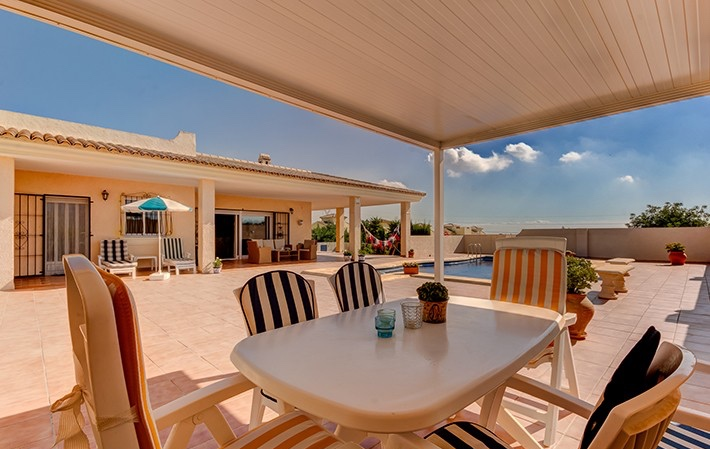 Lovely 3 Bedroom Detached Villa in La Algarrobina, Near Vera, Almeria, €299,000