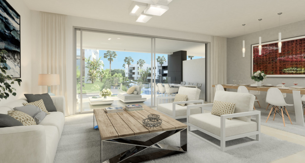 New 2, 3 & 4 Bedroom Apartments in Estepona, Malaga, Spain, From €290,000