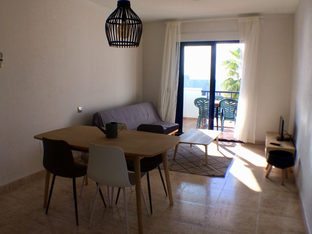 2 Bedroom penthouse Apartment with Sea Views in Mojacar, Almeria, Spain, €155,000