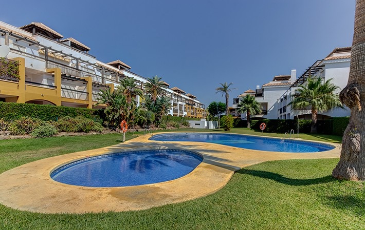 2 Bedroom Apartment in Urb. Lomas del Mar, Vera Playa, Almeria, €85,000