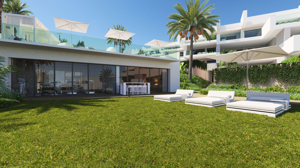 New 3 Bedroom Apartments in Manilva, Malaga, From €236,500