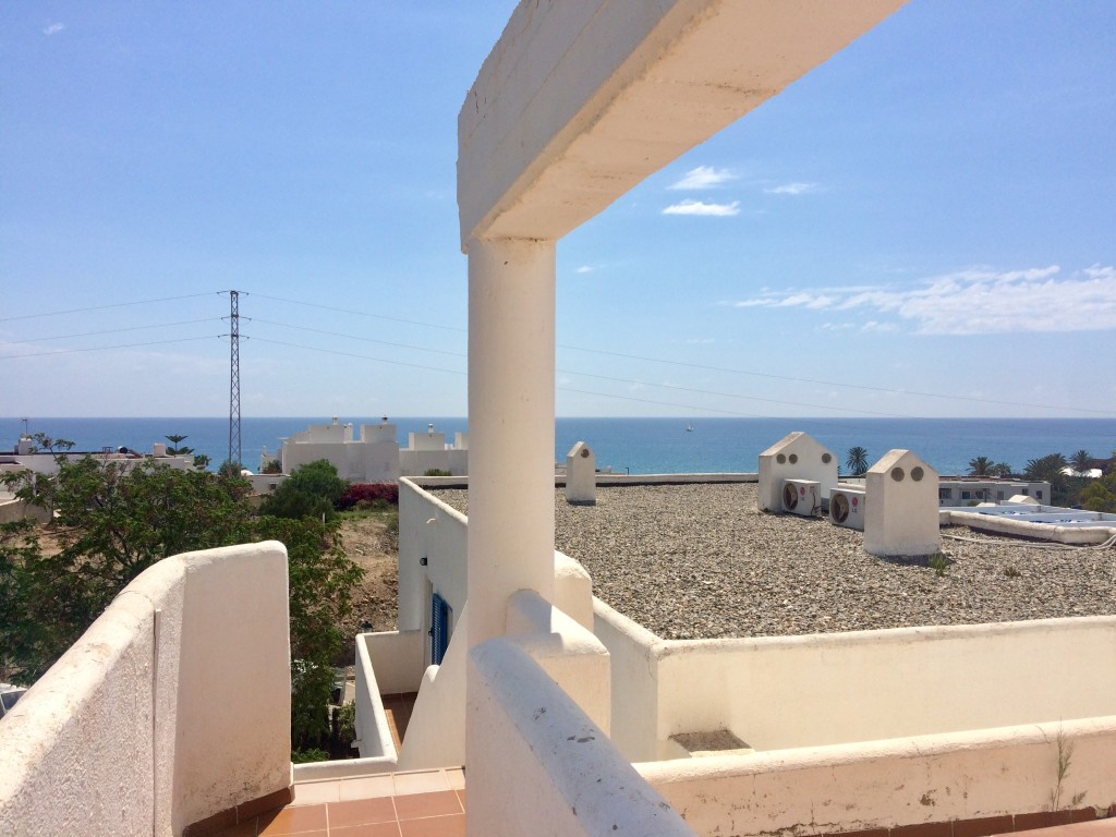 2 Bedroom Penthouse Apartment with Sea Views in Mojacar, Almeria, €133,000