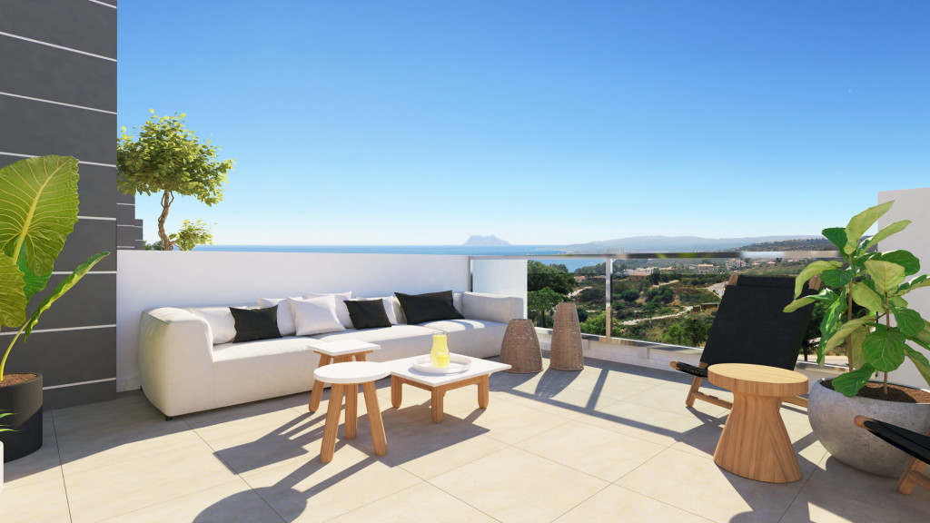 New 3 & 4 Bedroom Townhouses in Manilva, Malaga, From €280,000