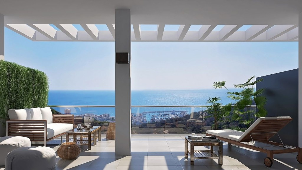New 2 & 3 Bedroom Apartments in Residencial Bluesunset, La Duquesa, From €129,800